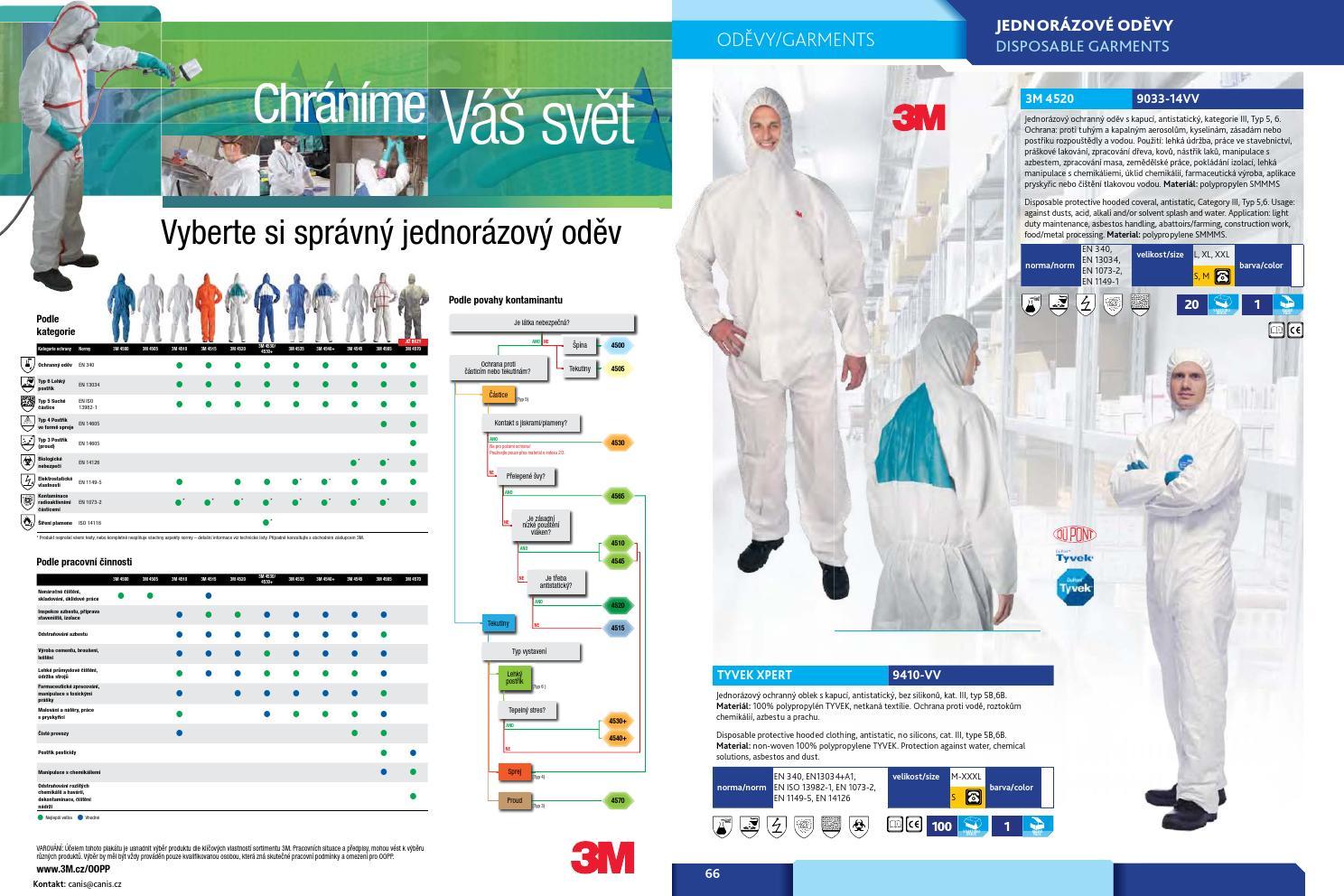 Jednorázové a vodeodolné oblečenie by Farby.sk - issuu 5bc8f38238