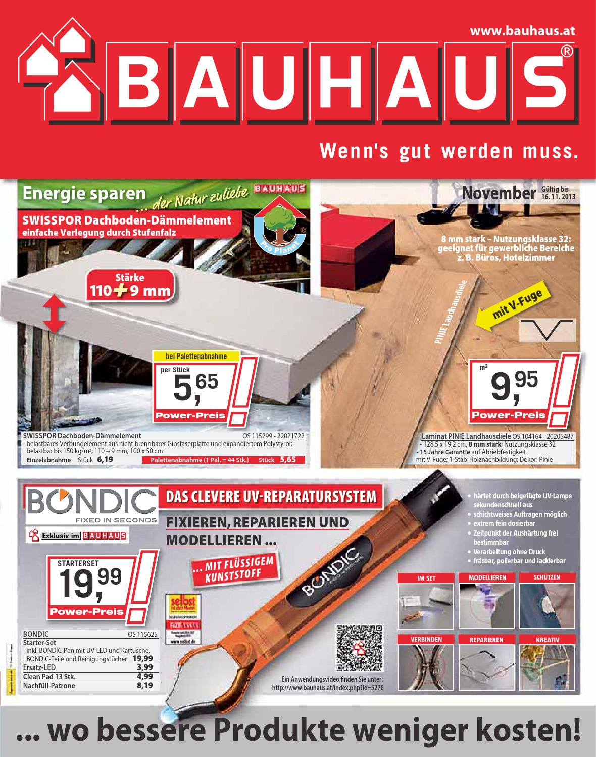 Bauhaus Katalog Gultig Bis 16 11 By Broshuri Issuu