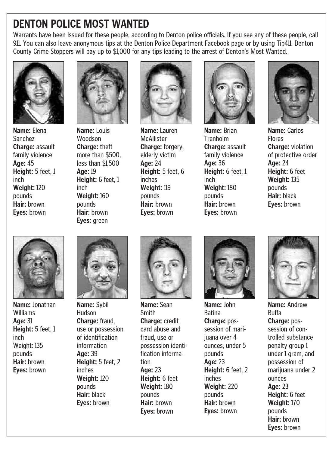 City of Denton Police Most Wanted by Larry McBride - issuu