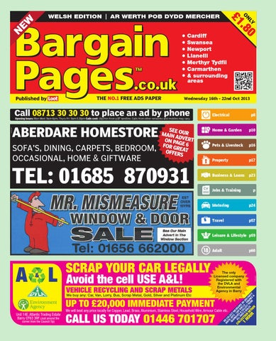 033384bf80 Bargain Pages Wales