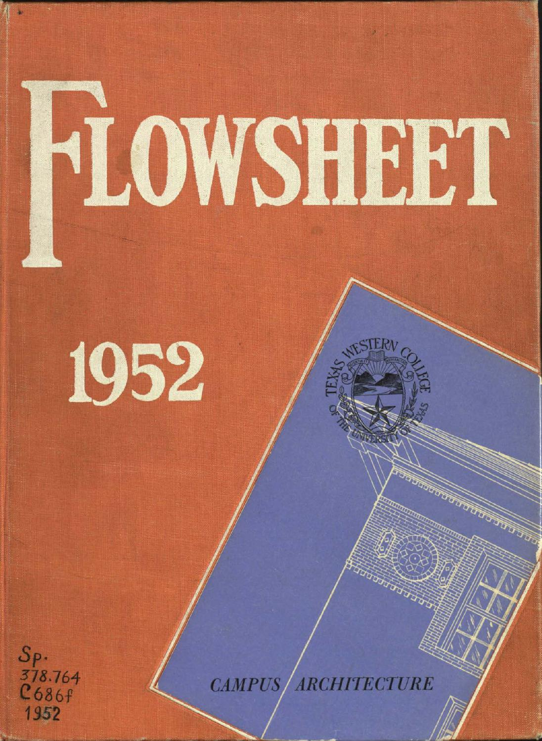 Flowsheet 1952 by UTEP Library - issuu