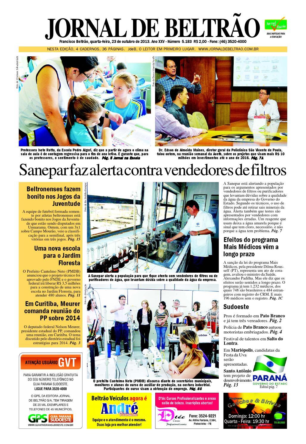 Jornaldebeltrao 5182 23-10-2013.pdf by Orangotoe - issuu 5958a80dadfc7