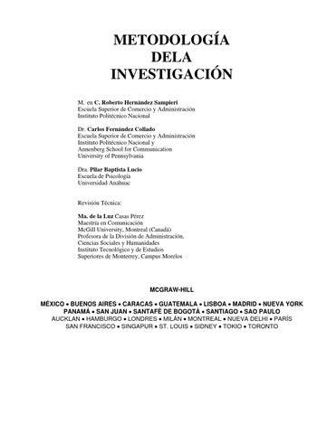 Metodología de la investigación by orfelis - issuu