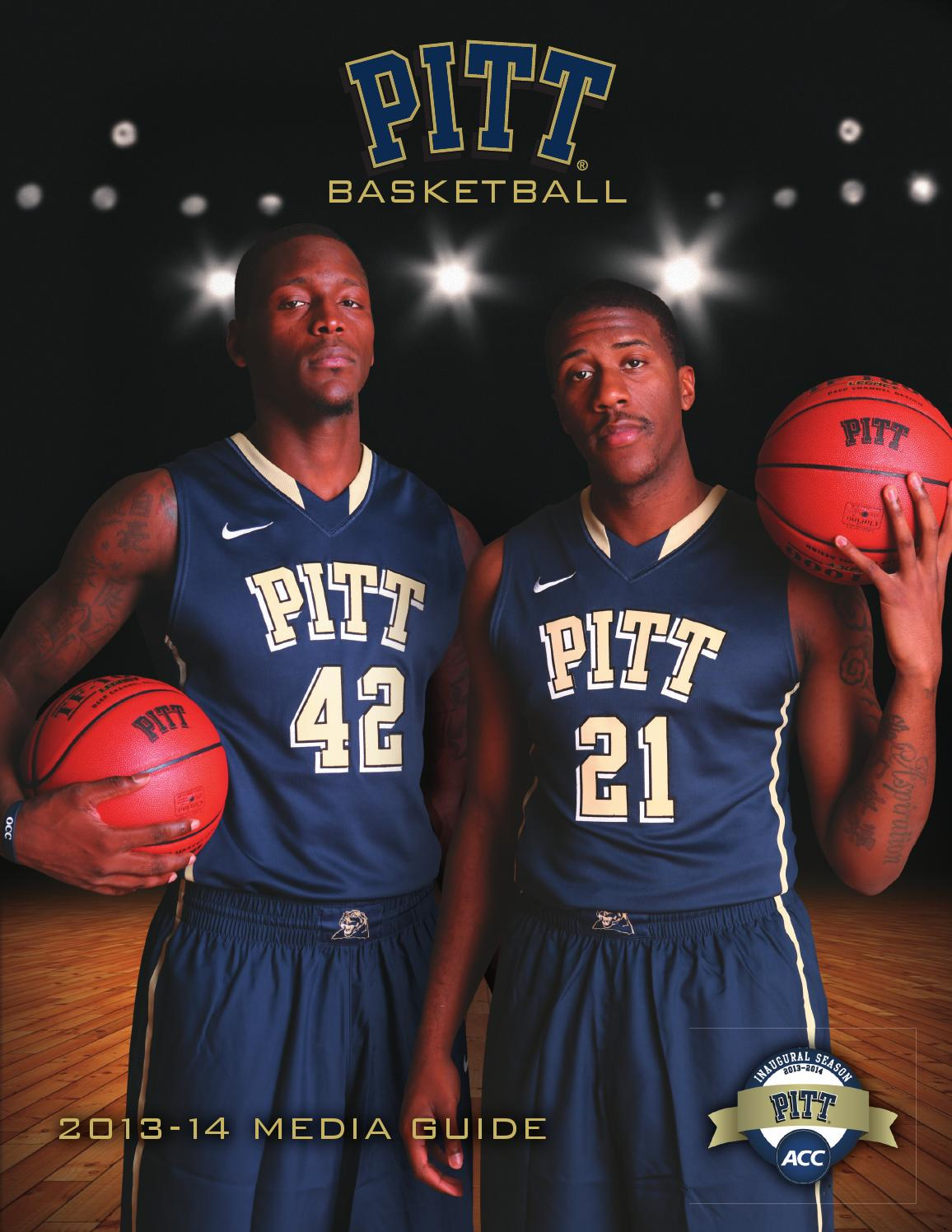 145e476d0464 2013-14 Pitt Men s Basketball Media Guide and Fact Book by University of  Pittsburgh Athletics - issuu
