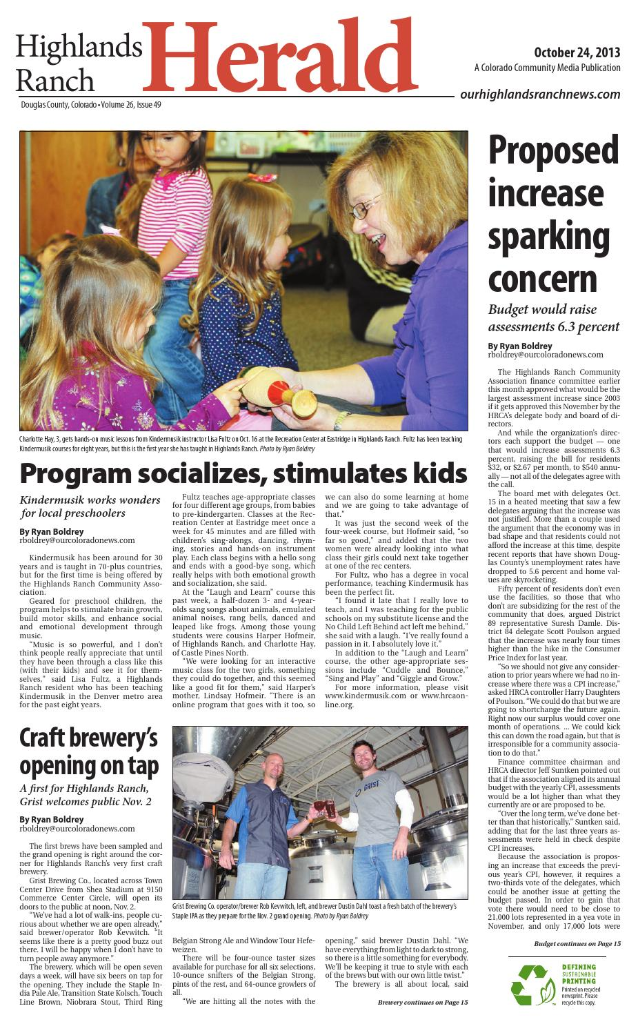 Highlands ranch herald 1024 by Colorado Community Media - issuu
