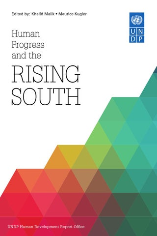 Human Progress and the Rising South by United Nations Development