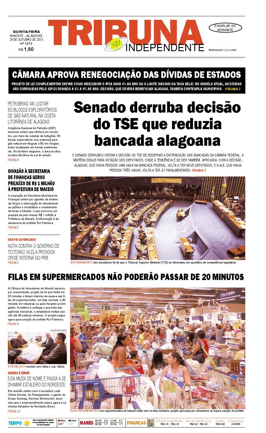 eb2829df07e Edição número 1879 - 24 de outubro de 2013 by Tribuna Hoje - issuu