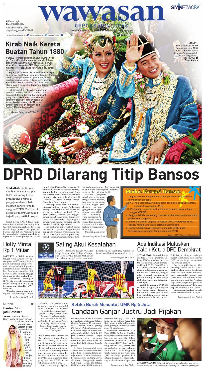 WAWASAN 24 Oktober 2013 by KORAN PAGI WAWASAN - issuu 37842ca2a6