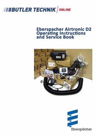 eberspacher airtronic d2 instructions by butlertechnik issuu rh issuu com