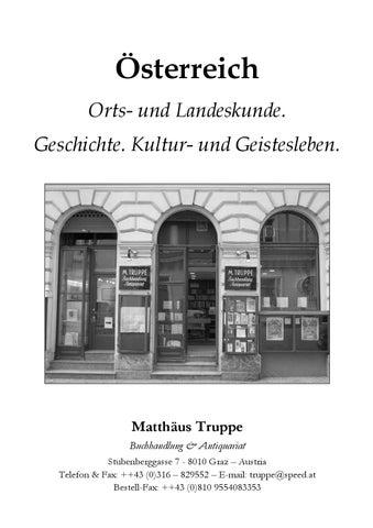 Oesterreich - Orts- und Landeskunde by Matthaeus Truppe - issuu