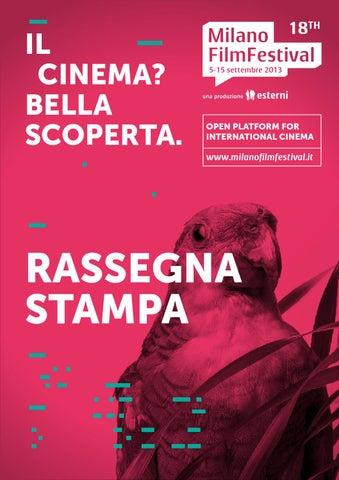 MFF2013 rassegna stampa by Milano Film Festival - issuu 58daf37d029