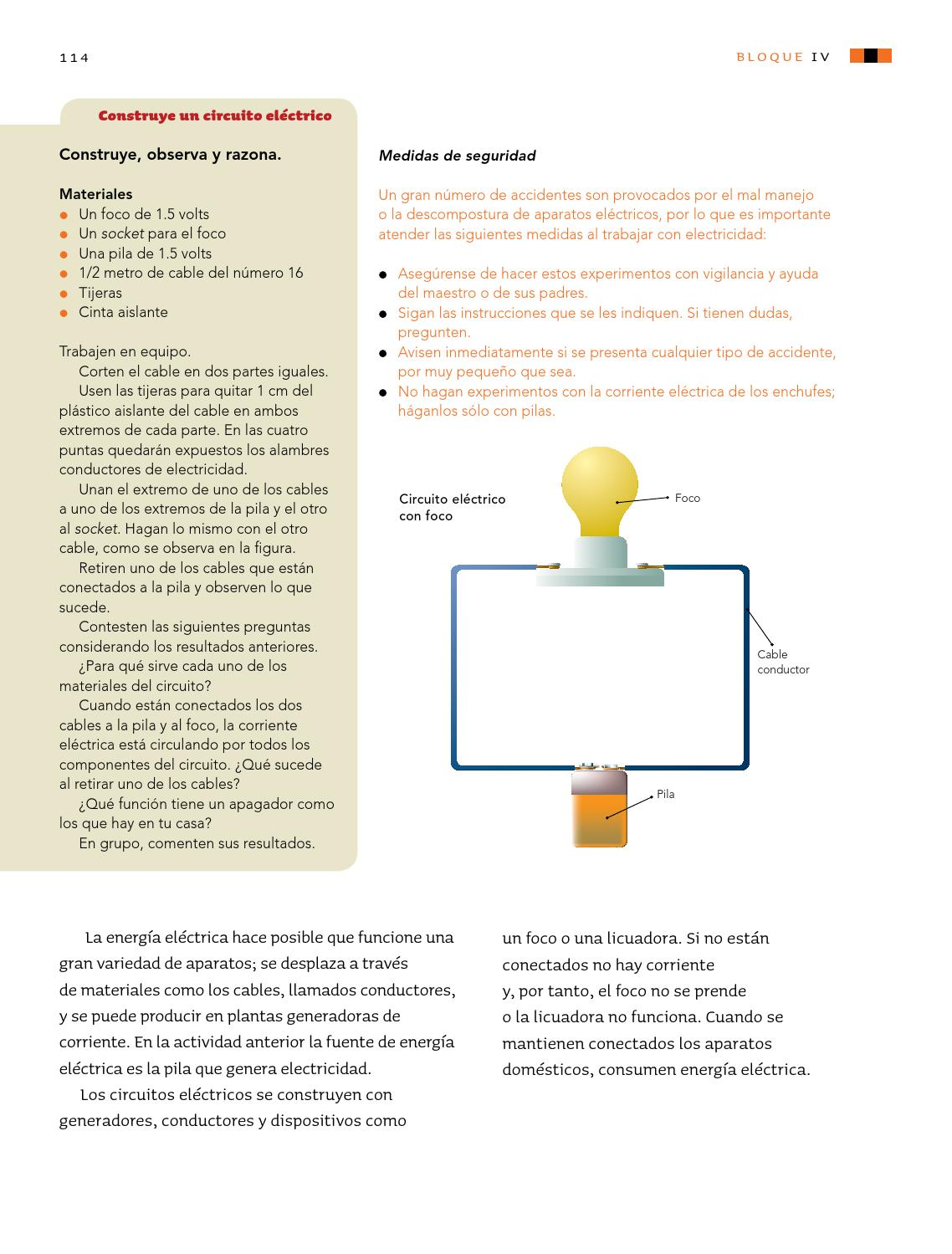 Circuito Electrico Basico : Calaméo circuitos electricos basicos