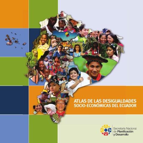 atlas de las desigualdades socio econ243micas del ecuador by