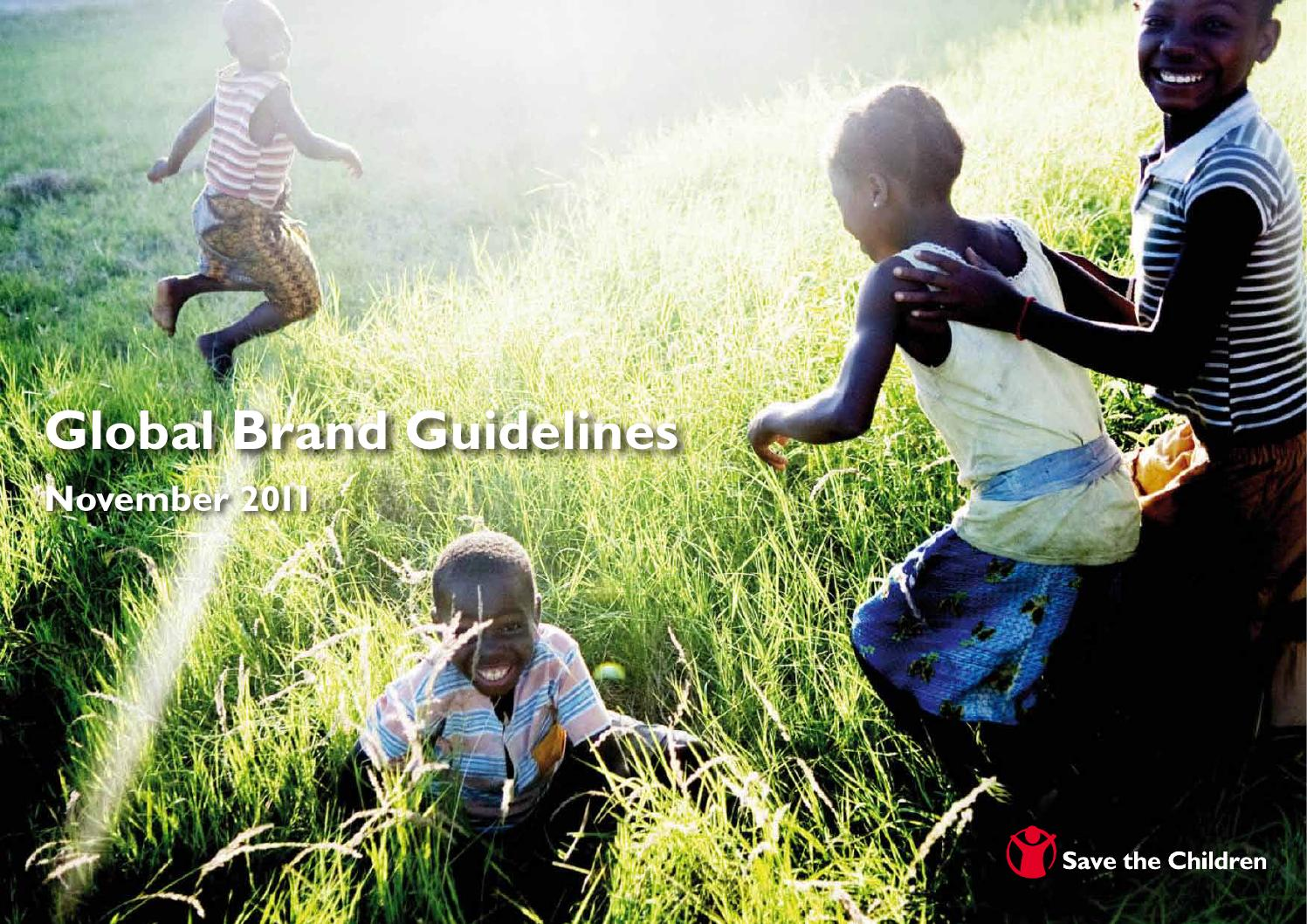Save the Children global brand guidelines by Save the Children - issuu