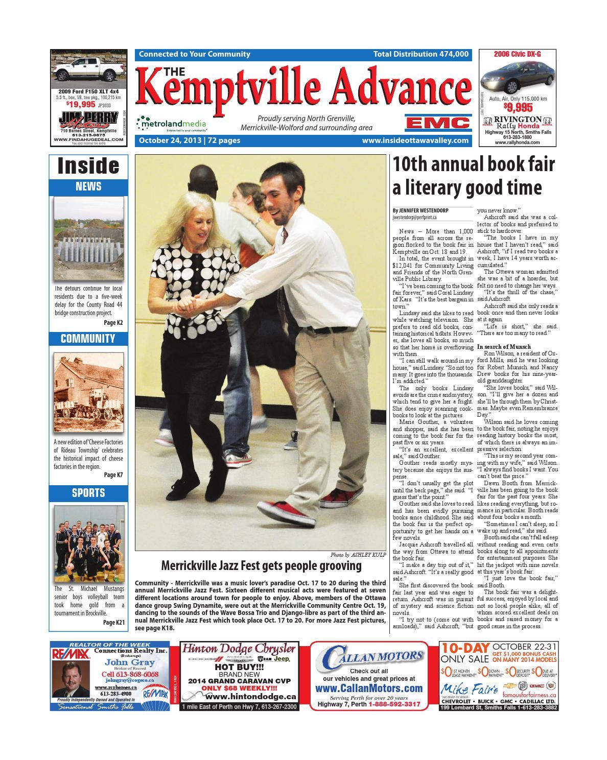 Kemptville102413 by Metroland East - Kemptville Advance - issuu