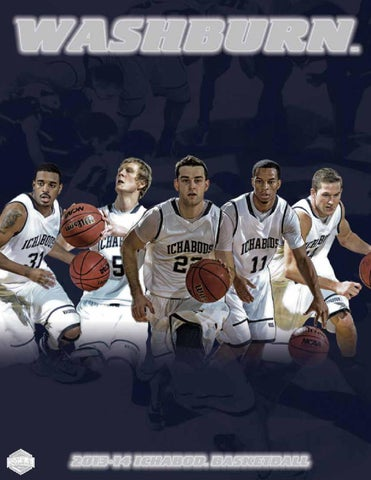 2013-14 Washburn Ichabod Basketball Team  (sitting - left to right) Andy  Wilson 416dcafd4