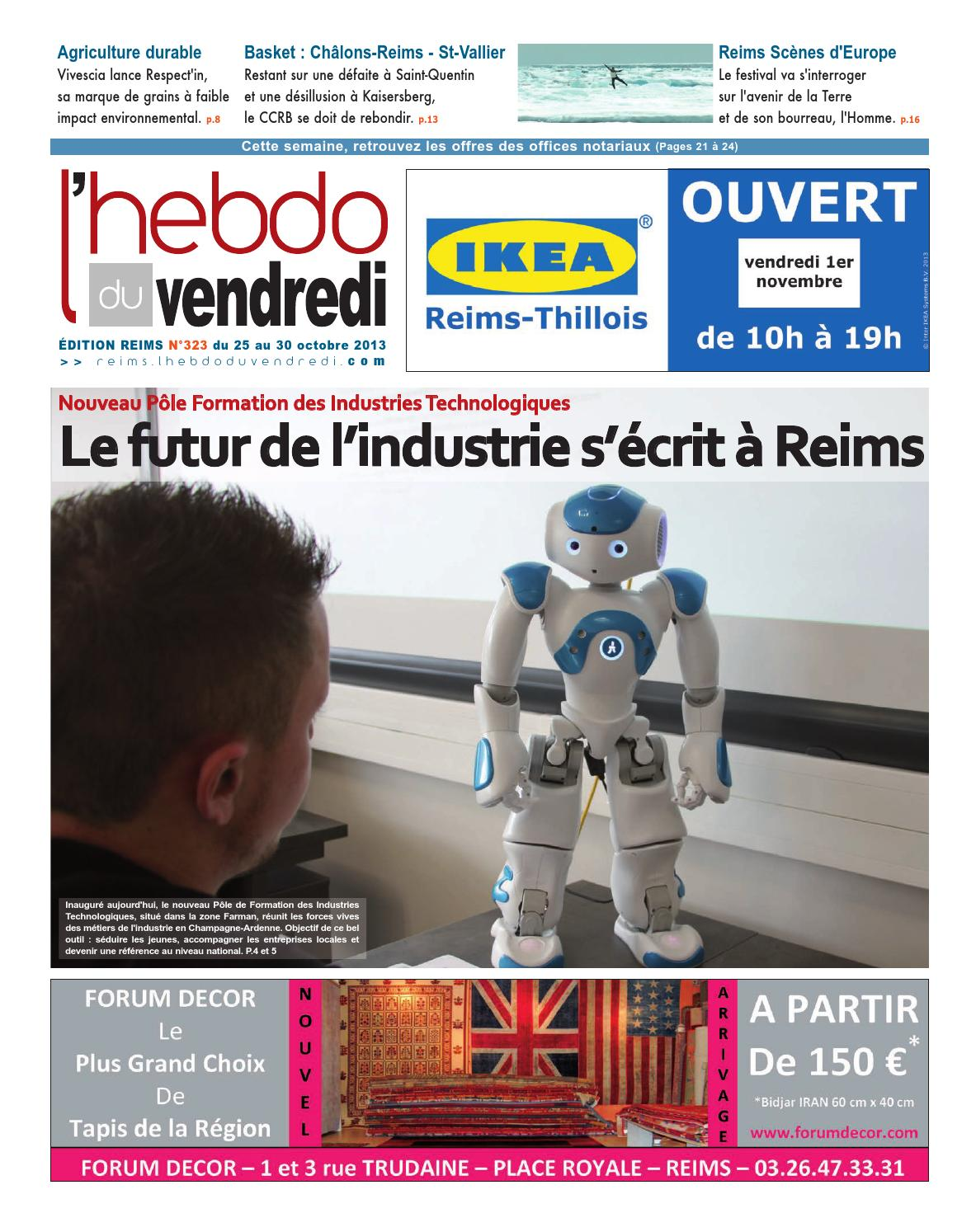 Lhebdo Du Vendredi Reims 323 By Kilkoa Issuu
