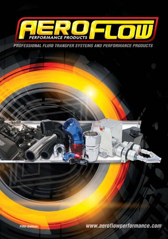 Aeroflow Performance Catalogue by rocket industries pty ltd