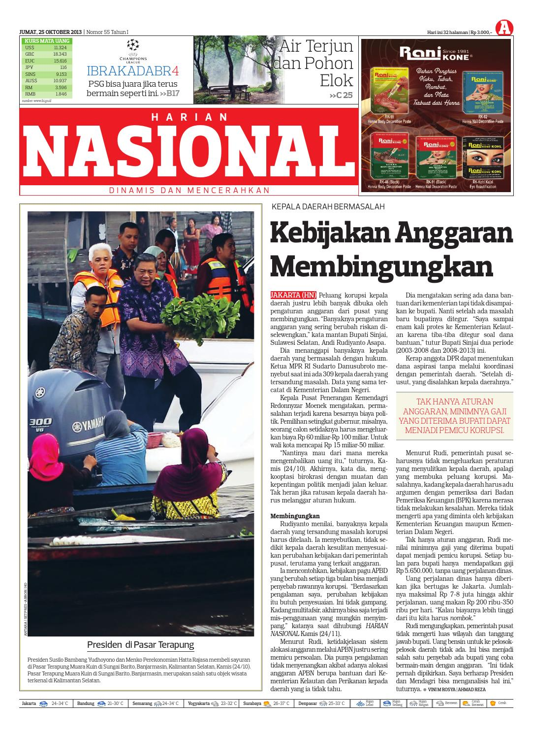 Harian Nasional By Issuu Produk Ukm Bumn Sepatu Batik Chanting Katun