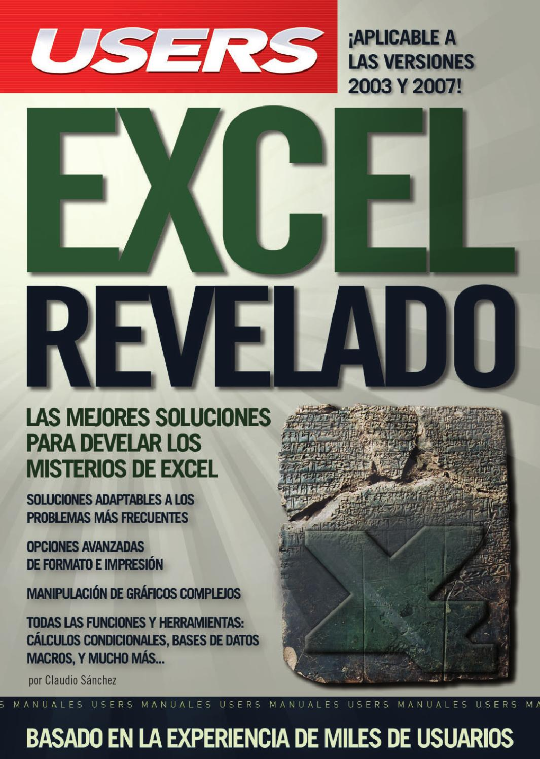 Excel Revelado By Giutpl Issuu