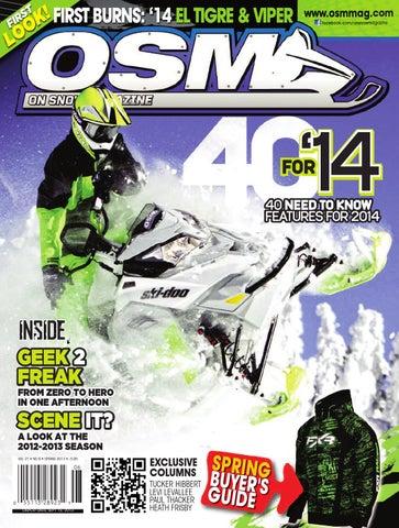 bc949fcb733b OSM Spring 2013 by On Snow Magazine - ATV World Magazine - issuu