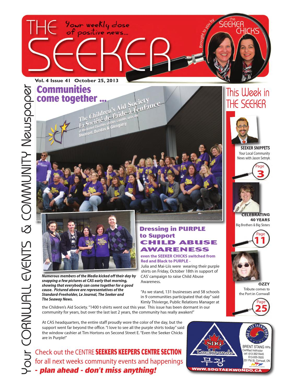 Vol 4 issue 41 web2 by The Seeker - issuu