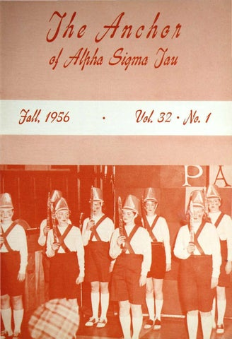c6d87474dff 1956 Fall ANCHOR by Alpha Sigma Tau National Sorority - issuu
