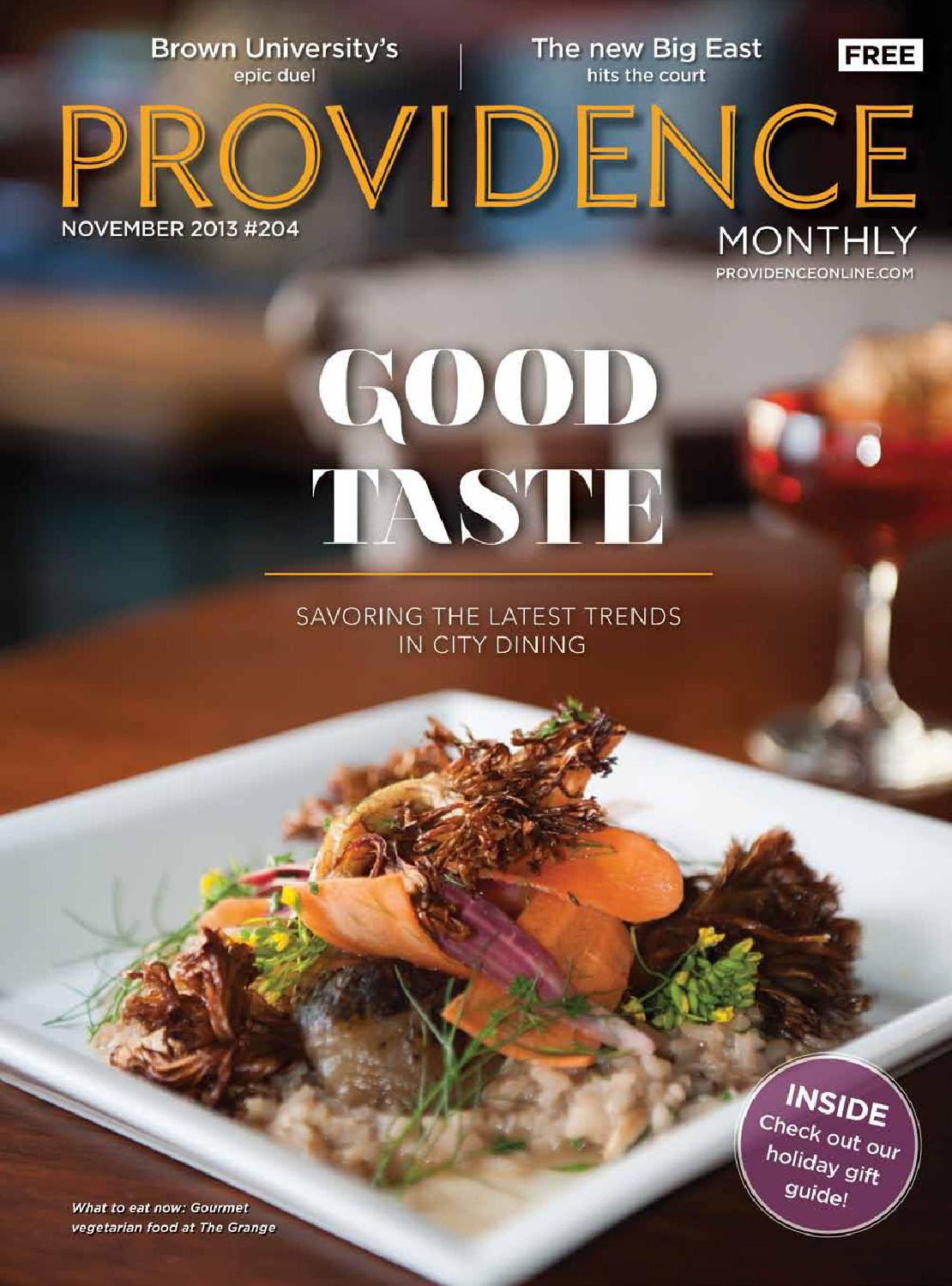 Providence Monthly November 2013 by Providence Media - issuu