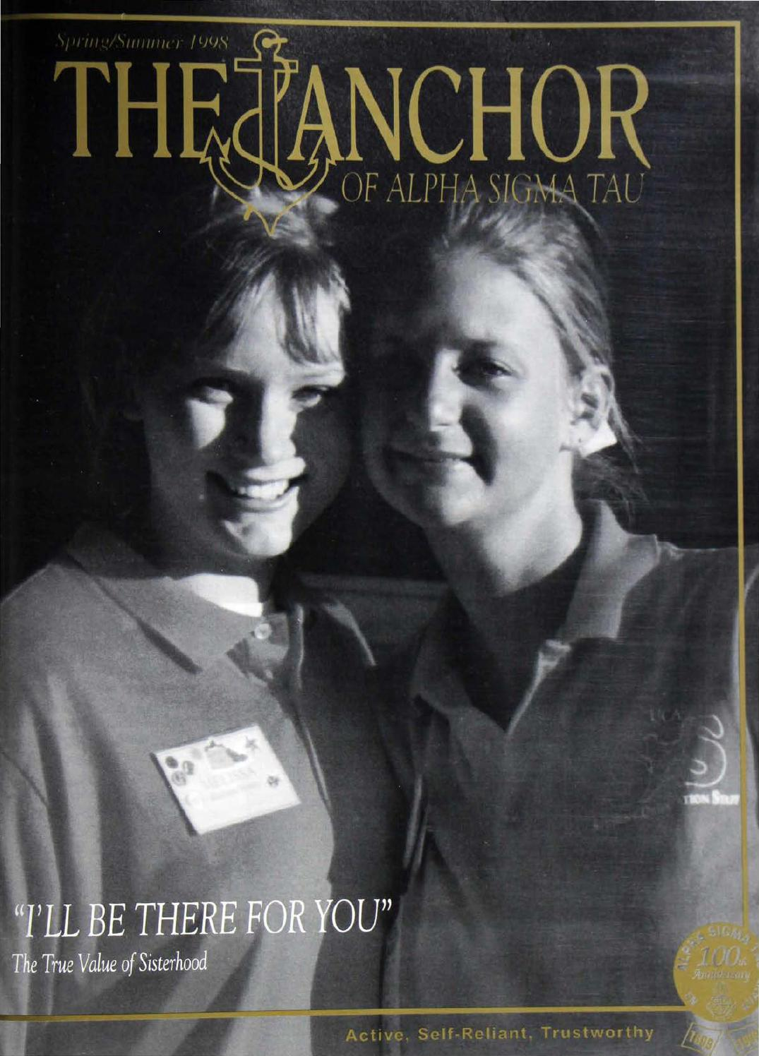 1998 Spring/Summer ANCHOR by Alpha Sigma Tau National