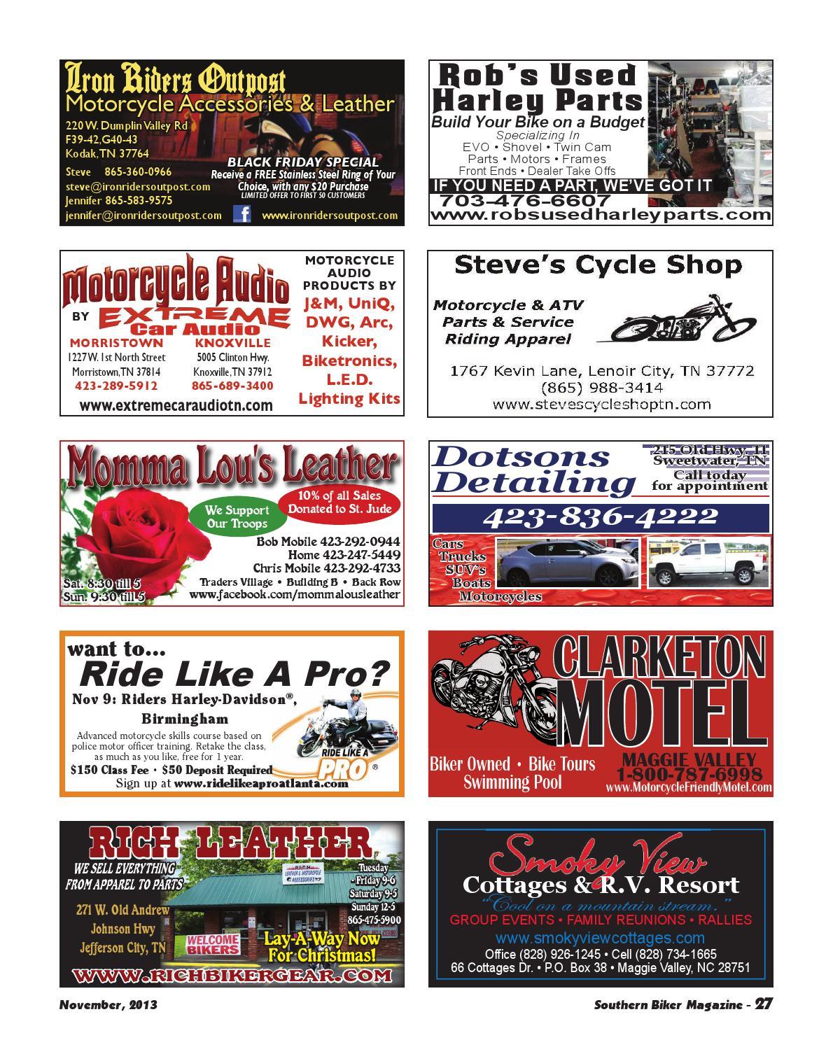 Southern Biker Magazine November 2013 by Kristin Gracy - issuu