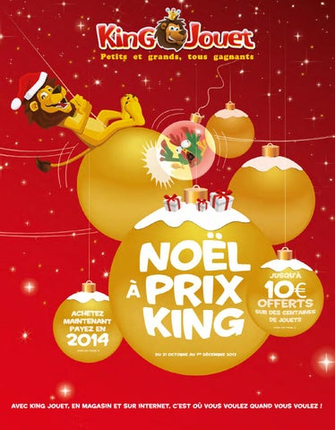 Jouet Catalogue Noël By Issuu King Prix Monroe Joe À SUMpqVz