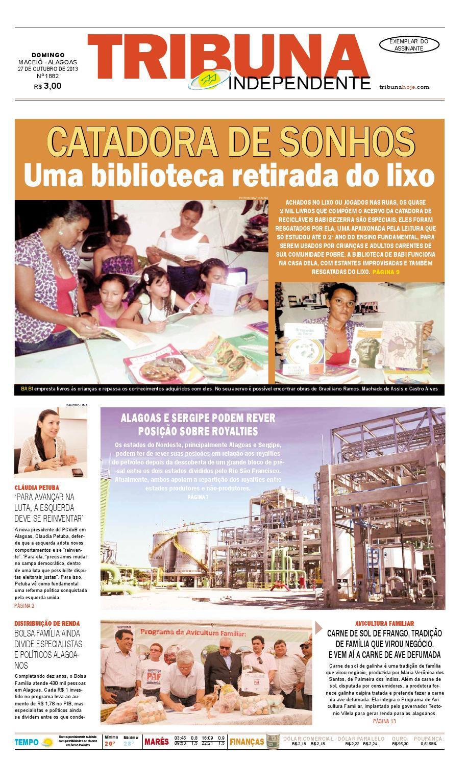 7ed8610eaf1 Edição número 1882 - 27 de outubro de 2013 by Tribuna Hoje - issuu