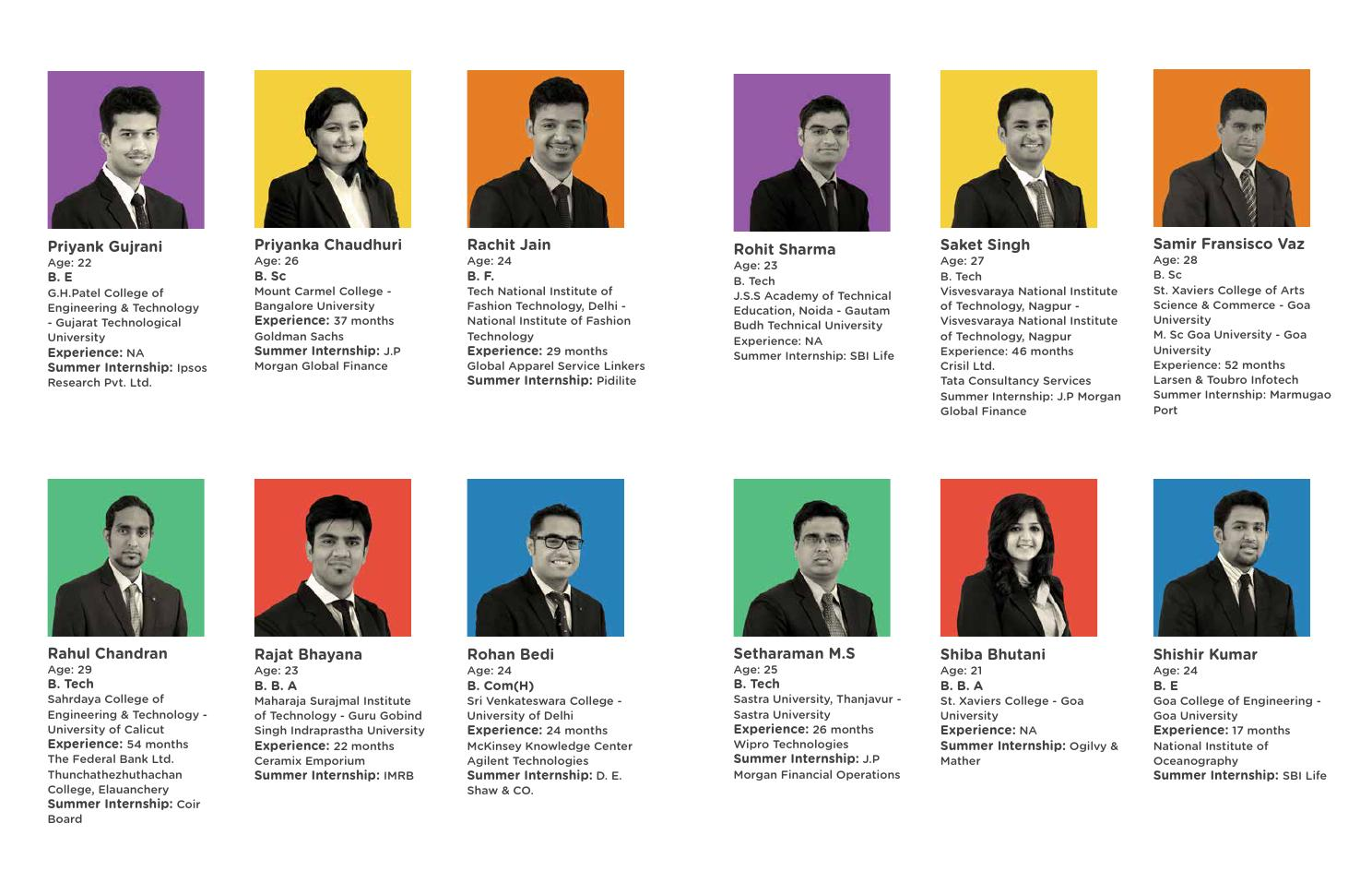 Placement Brochure - Goa Institute of Management by GIM