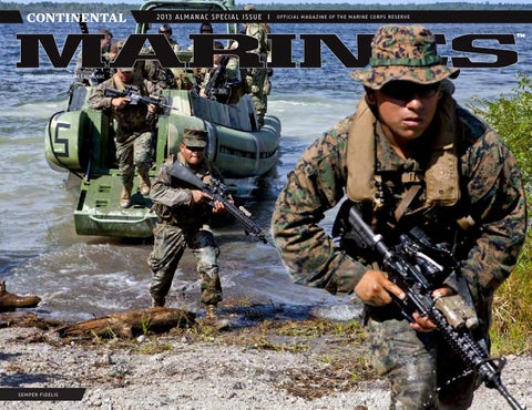 Continental Marines Magazine Almanac13 By Marine Forces Reserve - Usmc-counter-intel