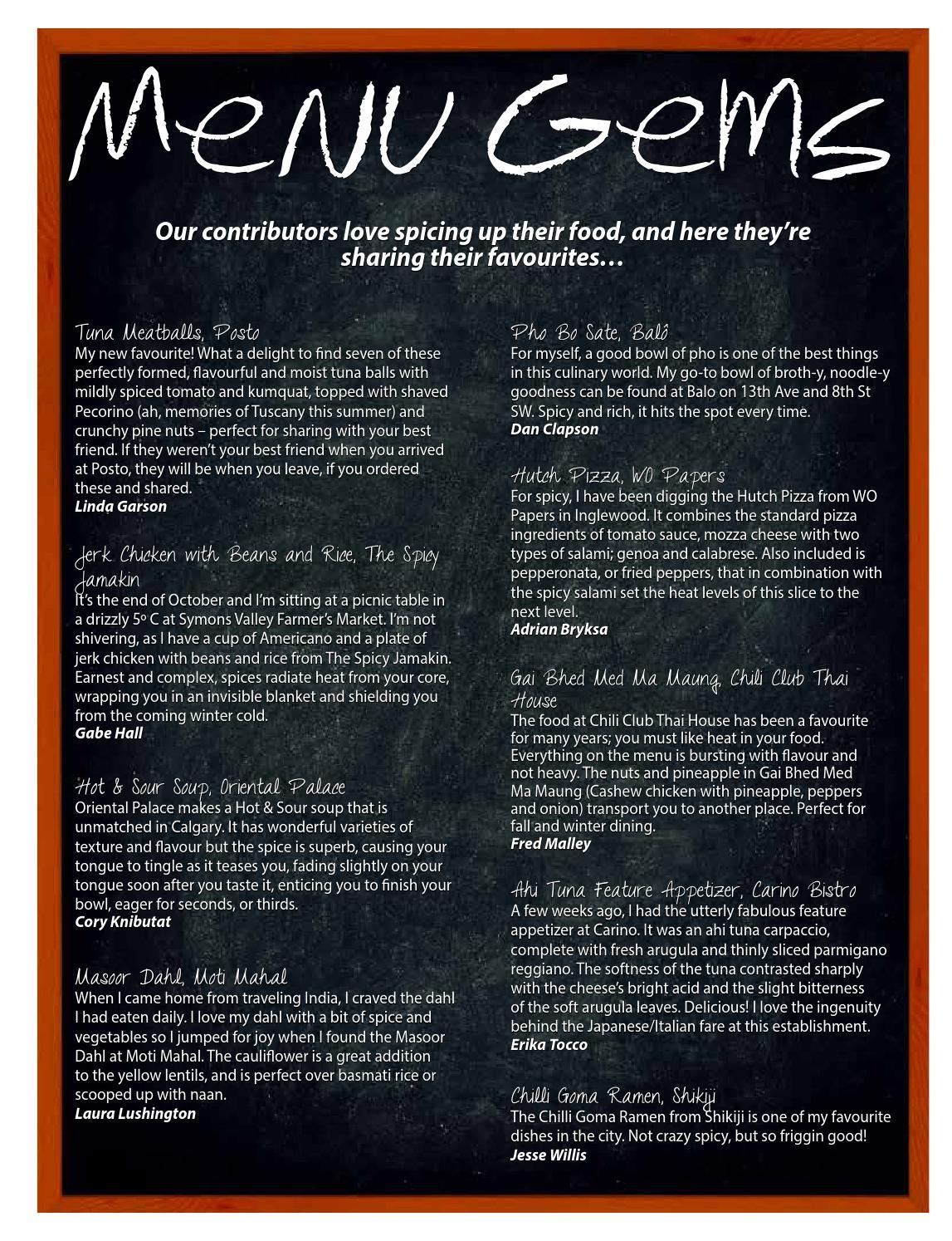 Culinaire #2:6 (november 2013) by Culinaire Magazine - issuu
