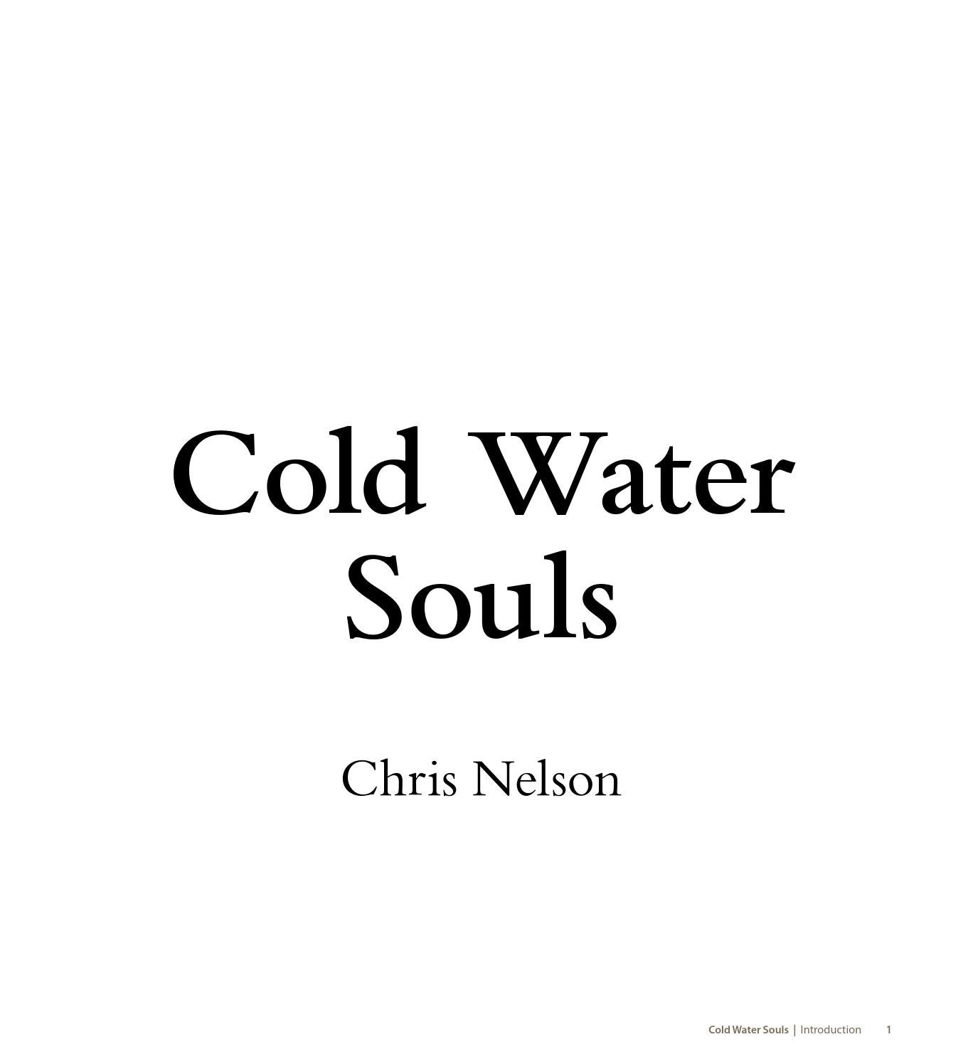 9aa57e6cb3 COLD WATER SOULS - EXTRACT by demi taylor - issuu