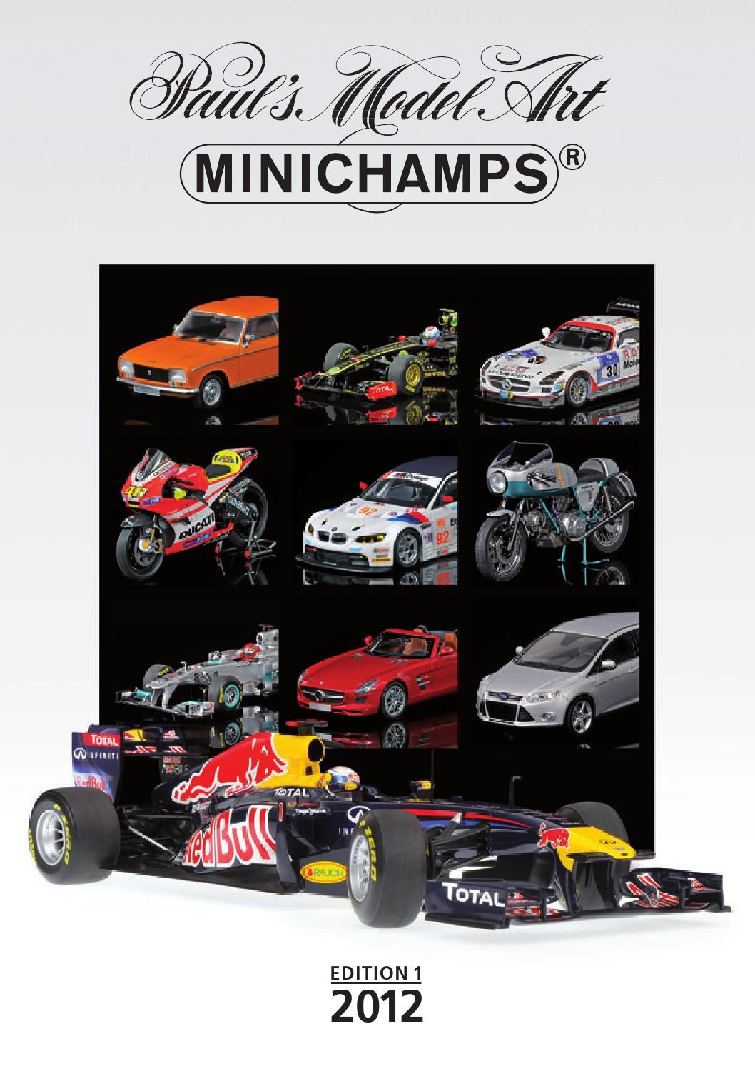Minichamps Catalog 2012 by Minichamps - issuu