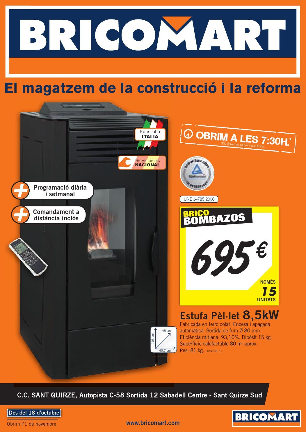 Cat logo y ofertas bricomart v lido 01 11 by broshuri issuu - Termo electrico bricomart ...