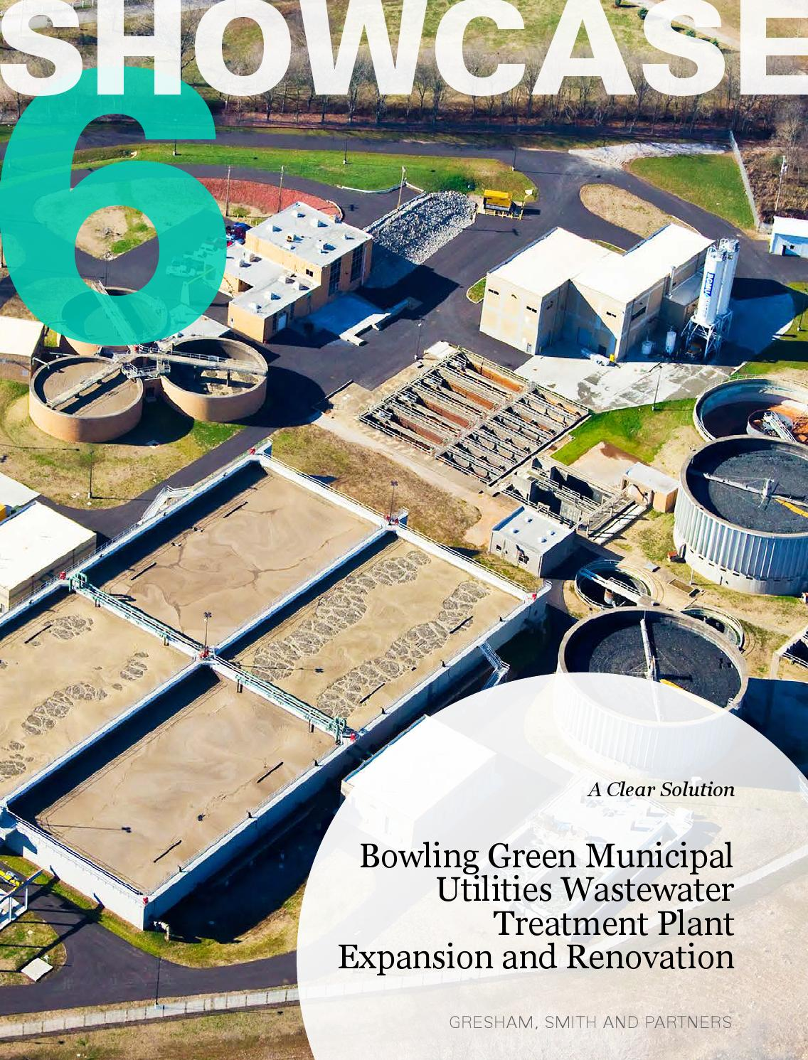Bowling Green Wastewater Treatment Plant Renovation By