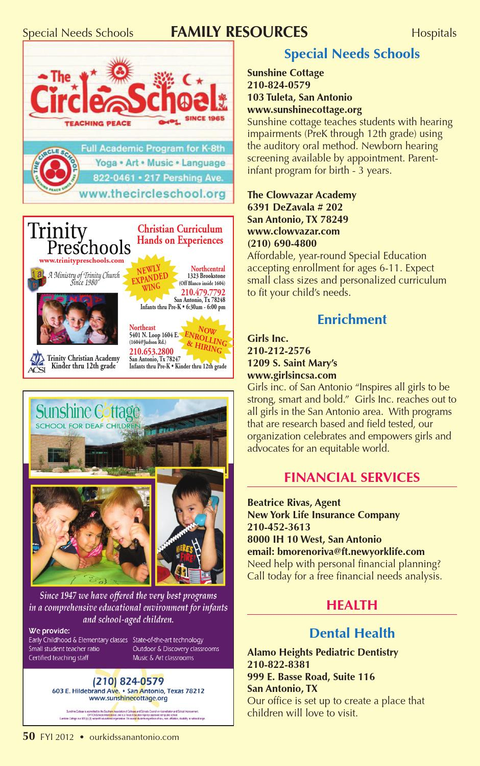 Fyi 2012 by Our Kids Magazine - issuu