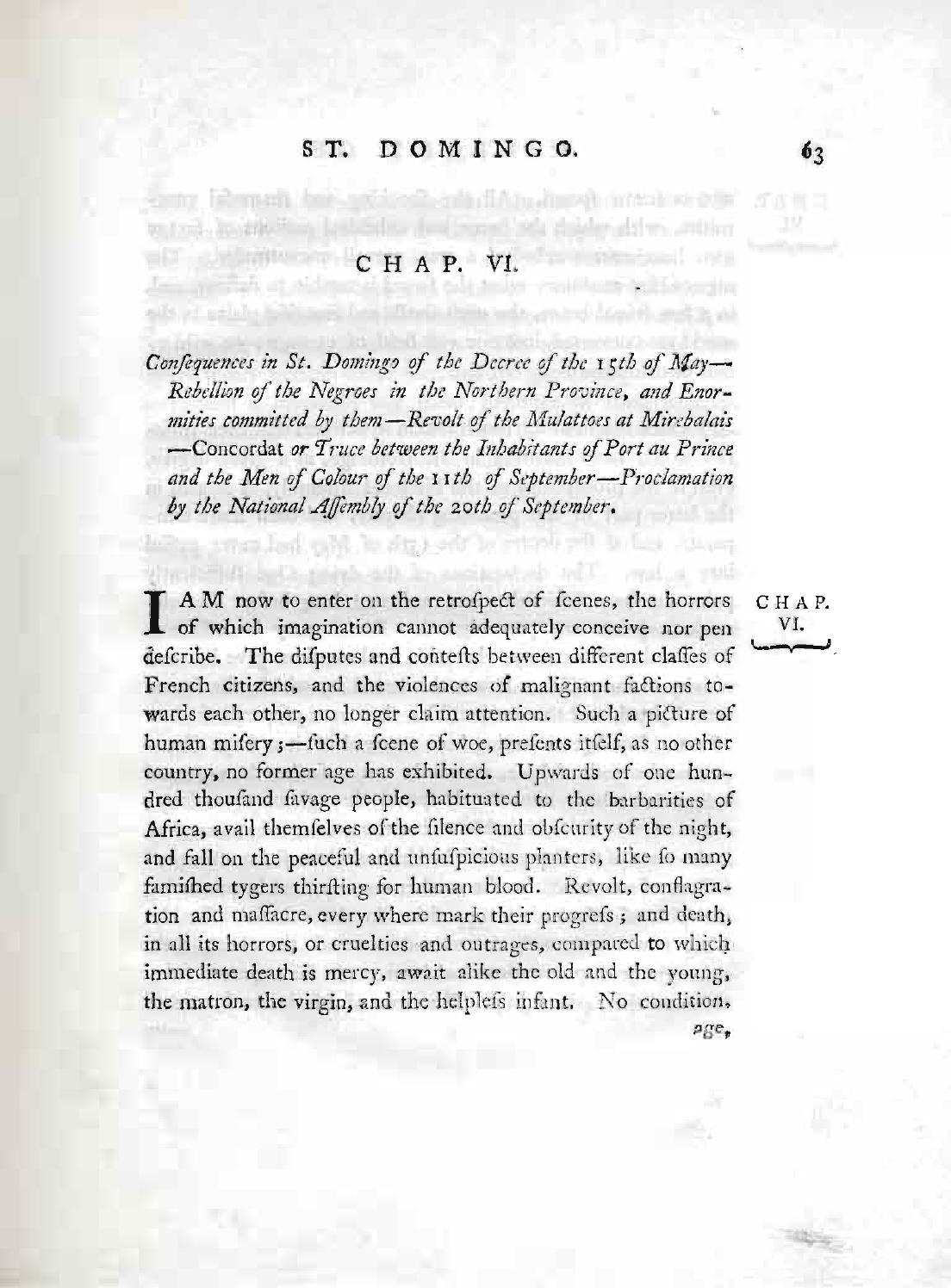 An historical survey of the french colony in the island of St