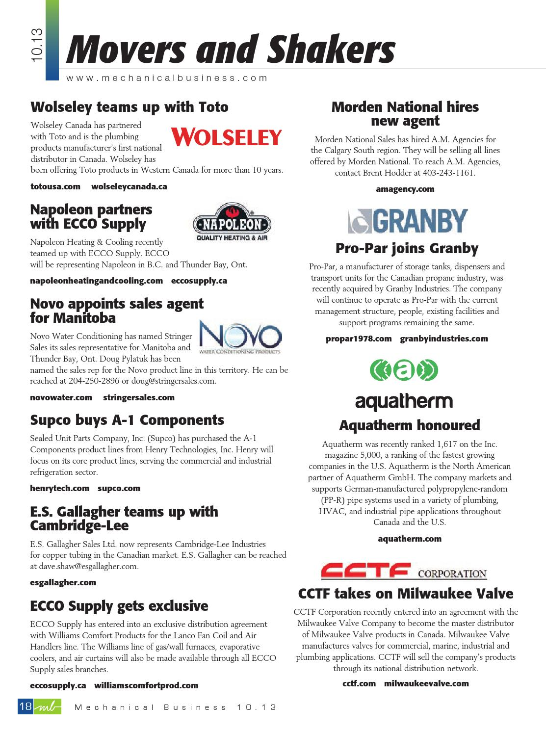 Septemberoctober 2013 By Mechanical Business Issuu
