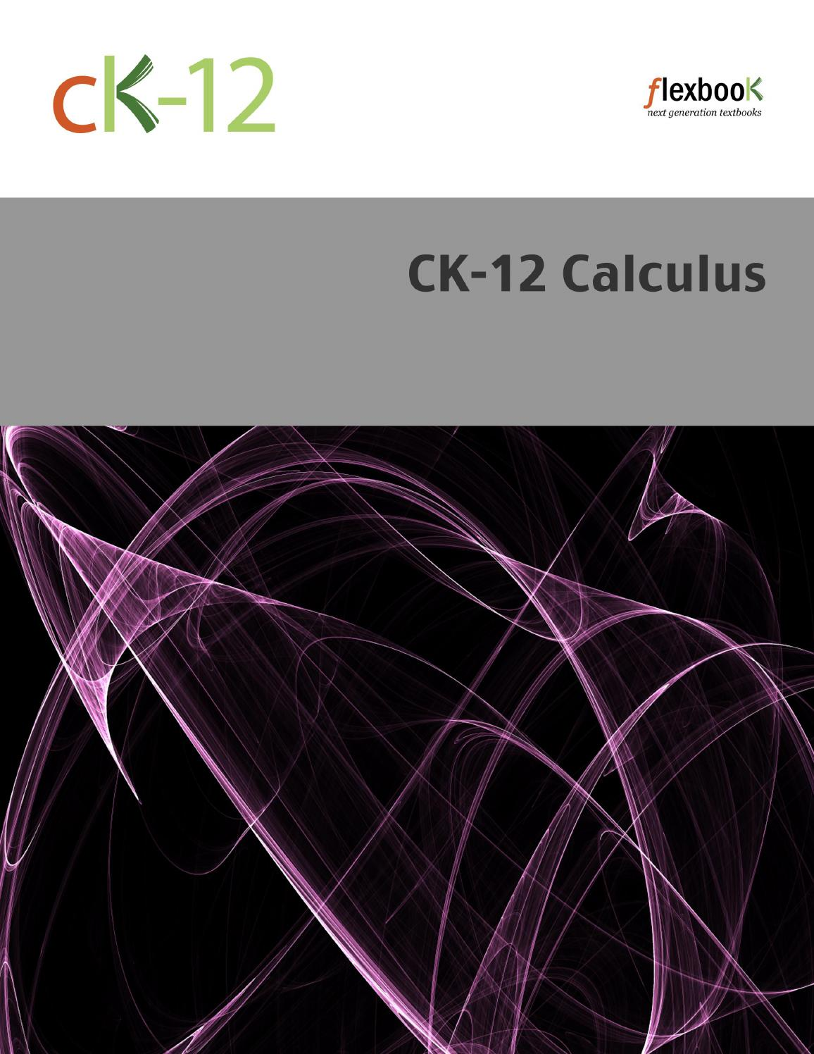 Ck 12 calculus b v4 ykt s1 by book worm issuu fandeluxe Gallery
