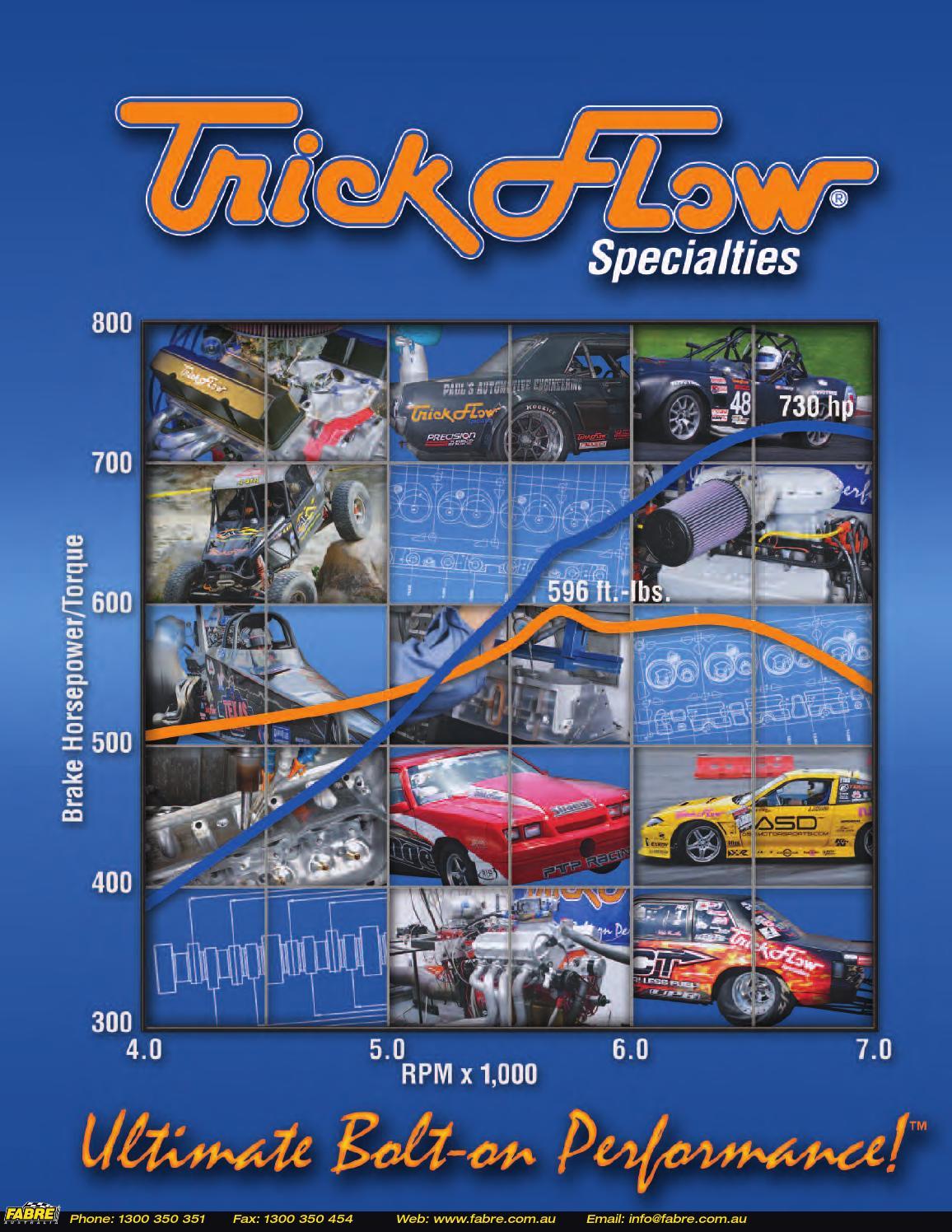 2013 Trickflow Catalog by Fabre Australia - issuu