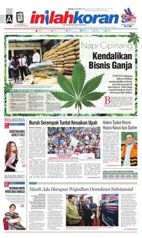 Cover Of Napi Cipinang Kendalikan Bisnis Ganja