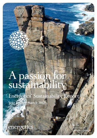 Energetics Sustainability Report YEM12
