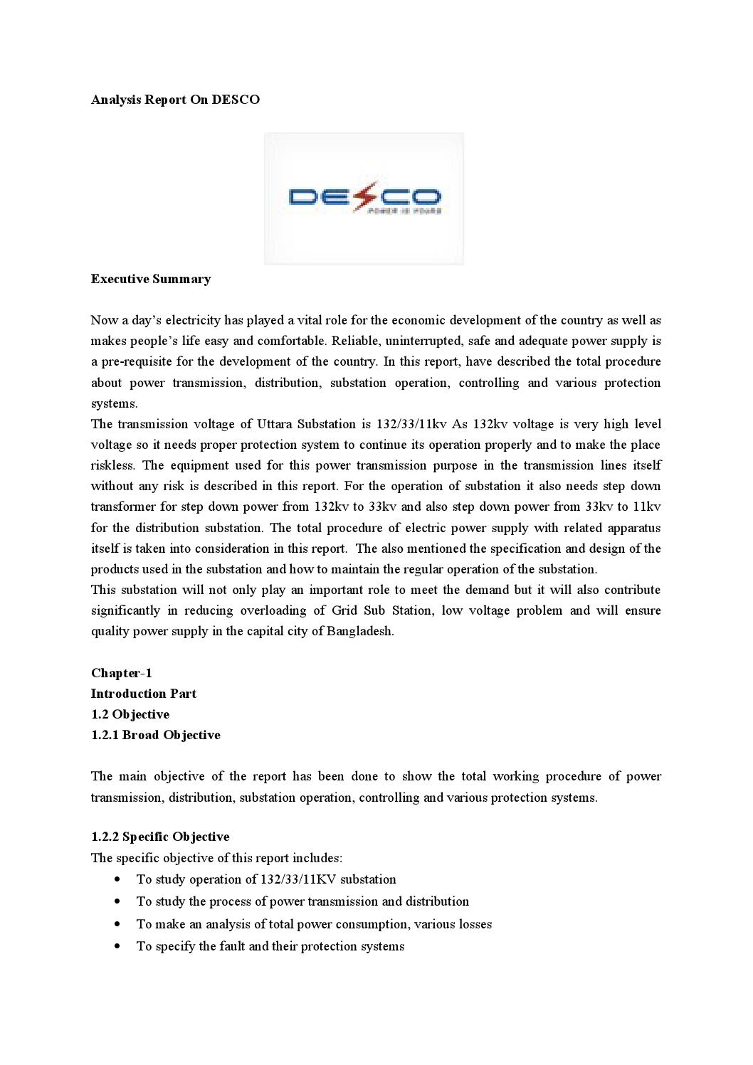 Production System And Analysis Report On Desco By Md Papon Issuu - Neutral displacement relay working principle