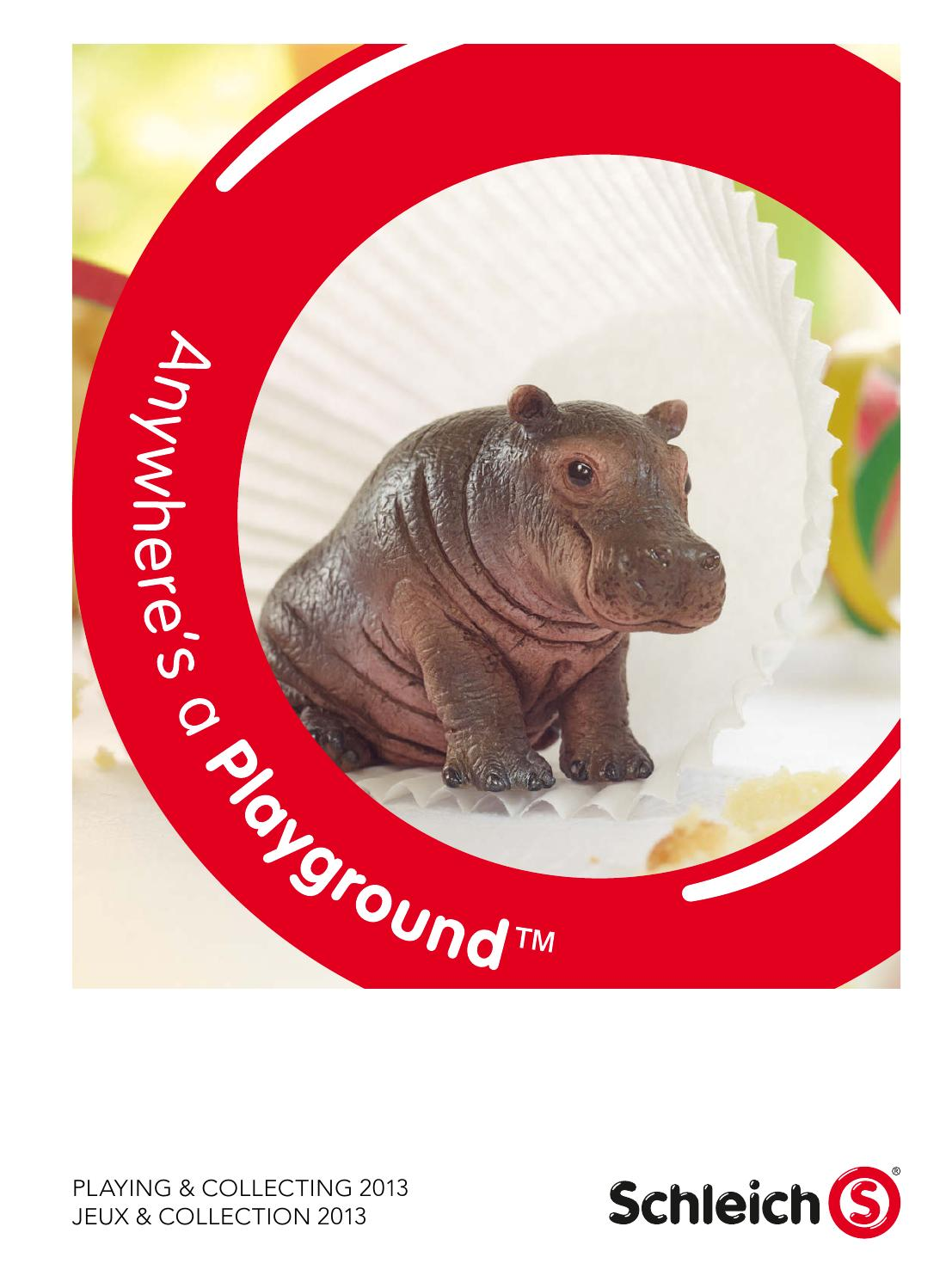 Schleich Wild Life ours polaire jeune constamment Ours Polaire Glace Ours Ours Animal sauvage personnage