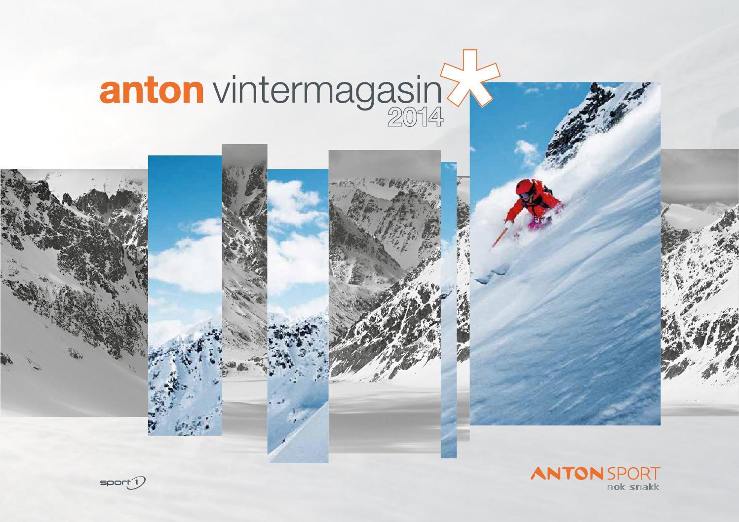 66fadd1c Anton Sport Vintermagasin 2014 by INK DESIGN - issuu