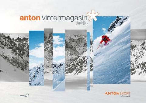 2ab667de Anton Sport Vintermagasin 2014 by INK DESIGN - issuu